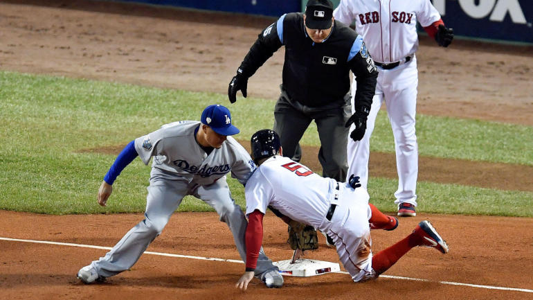 3b130b6e9 Red Sox vs. Dodgers: World Series Game 2 features a mesmerizing baseball  nutmeg