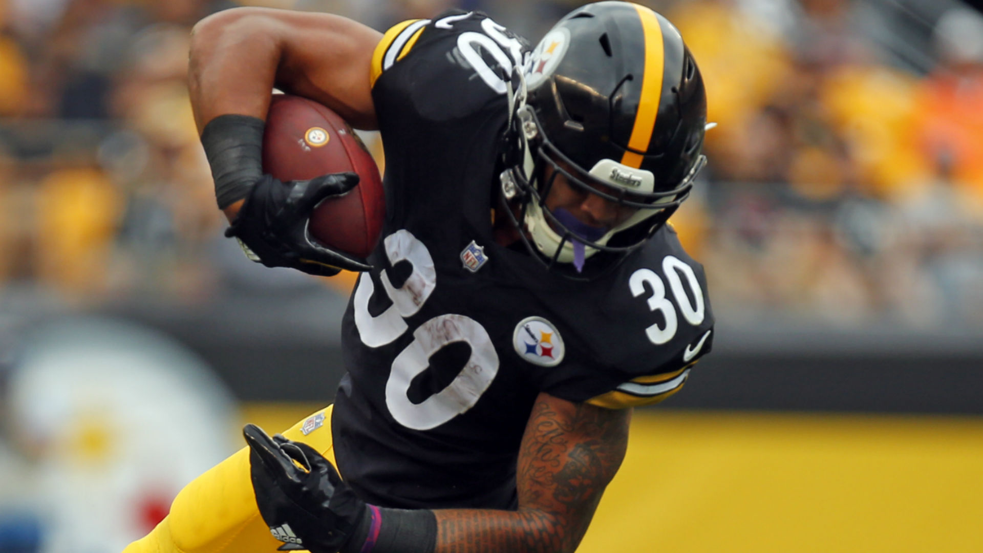 James Conner Injury Update: Steelers RB (ankle) Ruled Out
