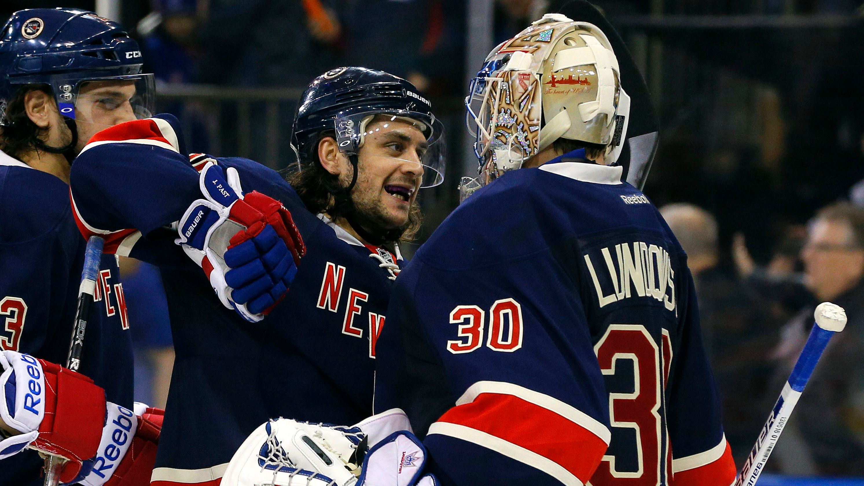 Henrik Lundqvist Gets Choked Up When Asked About Former Rangers