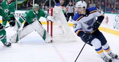 Blues activate David Perron from IR