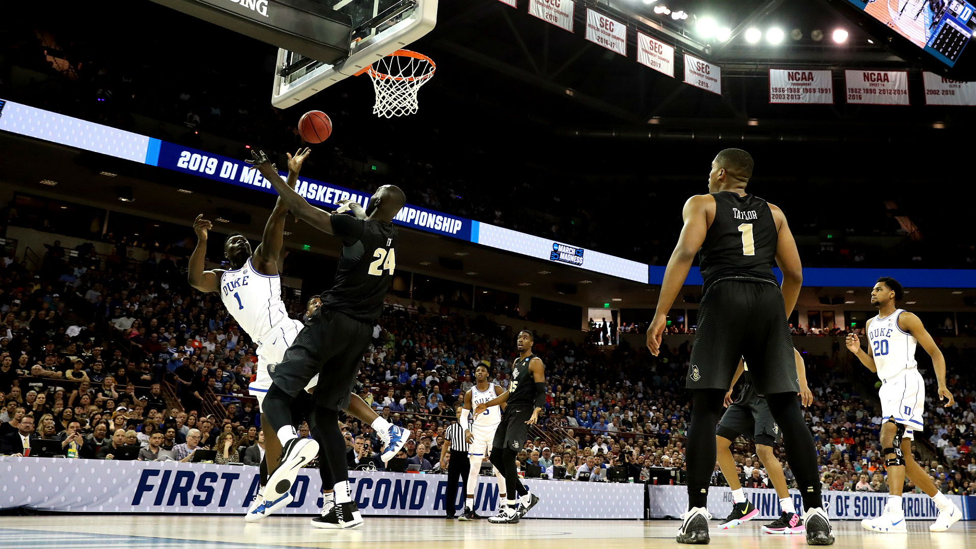 March Madness 2019 3 Takeaways From Duke S Win Over: March Madness 2019: Duke's Zion Williamson Discusses Win