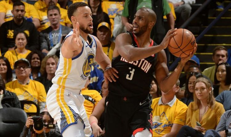 321060ae6e5 Chris Paul EJECTED in dramatic finish, Rockets furious with referees in Game  1 loss | Sports Love Me