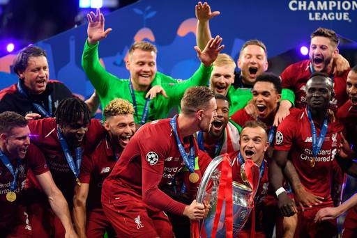 WATCH: Caoimhin Kelleher joins a select band of Irishmen as Corkman celebrates Champions League glory
