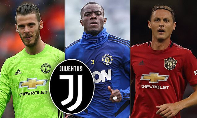 Image result for David de Gea, Eric Bailly and Nemanja Matic