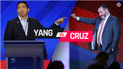 Andrew Yang vs. Ted Cruz: Scouting reports for potential one-on-one basketball game