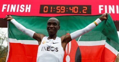 Eliud Kipchoge: The incredible numbers behind Kenyan's sub two-hour marathon in Ineos 1:59 challenge