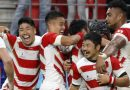 Rugby takes on typhoon in huge gamble