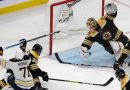 Boston Bruins goalie Tuukka Rask gives Marc-Andre Fleury heavy competition for save of the year