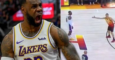 LeBron James: NBA fans angry at officials letting Lakers star get away with rule break