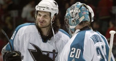 Ex-San Jose Sharks Mike Ricci, Evgeni Nabokov round out interim head coach Bob Boughner's staff