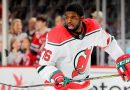 New Jersey Devils' P.K. Subban receives standing ovation in return to Nashville
