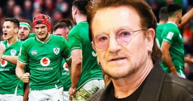 Bono delivers rousing speech to Ireland stars as sights set on Triple Crown vs England