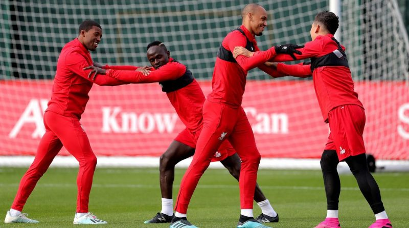 Fabinho confirms part of Mane's claim about Liverpool training sessions