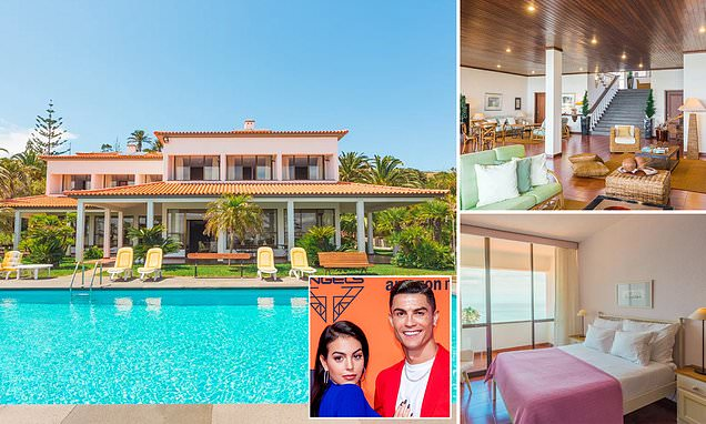Inside Ronaldo's stunning new £3.5k-a-week Madeiran home