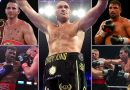 Meet Tyson Fury's potential foes for his December 5 homecoming bout