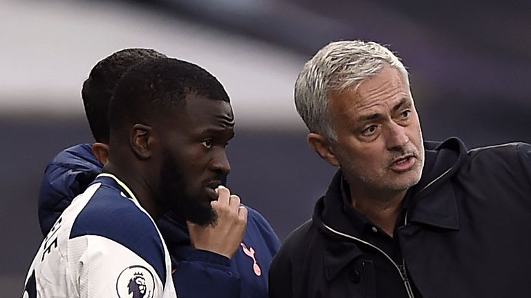 Tanguy Ndombele unfazed by Spurs boss Jose Mourinho's previous criticism