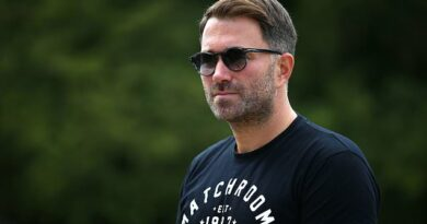 Hearn says it's 'disgusting' boxing is not included in £300m bail-out