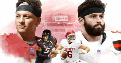 The legend of Baker Mayfield and Patrick Mahomes' 2016 epic
