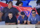 NRL investigating banned manager's appearance at Suaalii's debut