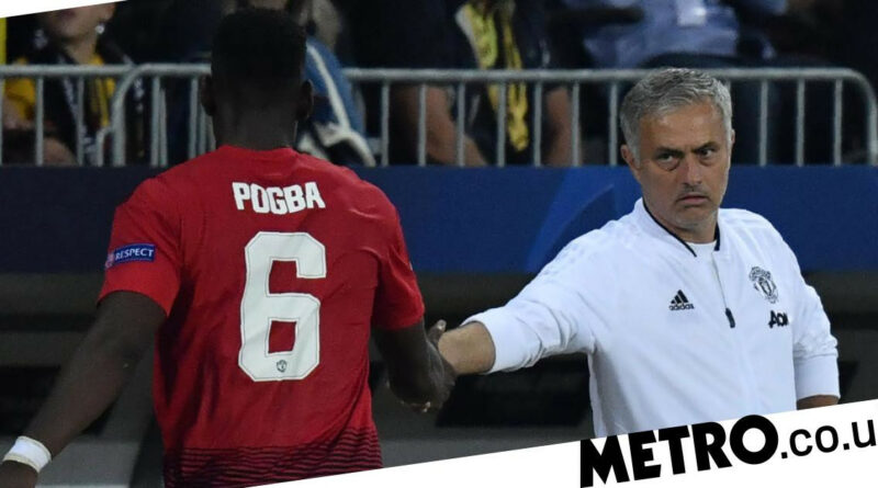 'I couldn't care less what he says': Jose Mourinho responds to Paul Pogba dig