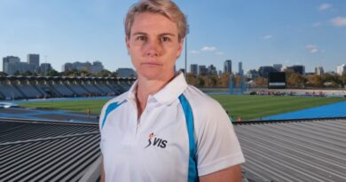 Athletics champ worries for her partner and coach stuck in India