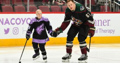 Coyotes adding cancer victim, 9, to ring of honor