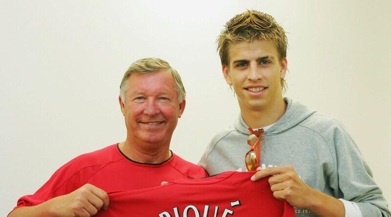 Man Utd starting XI of players Sir Alex Ferguson sold, including Gerard Pique