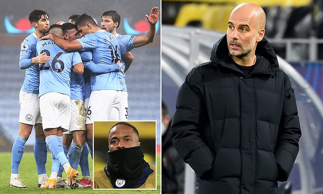 Pep Guardiola calls upon his Man City stars to 'earn their place'