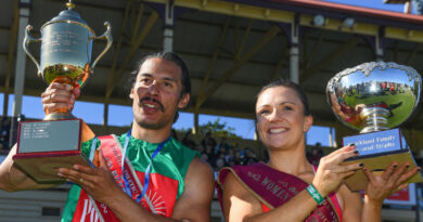 From fashions on the field to a winner's sash: Ware's win at Stawell