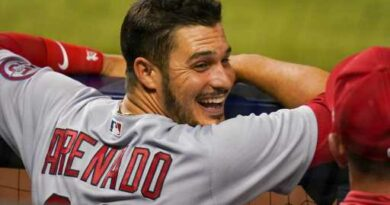 """Nolan Arenado finds joy with Cardinals, admits it's """"weird"""" playing against the Rockies – The Denver Post"""