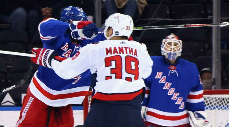 Pavel Buchnevich will have disciplinary hearing for high-sticking Anthony Mantha in fight-filled game