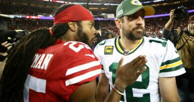 Richard Sherman says Aaron Rodgers has long been 'disrespected' by Packers