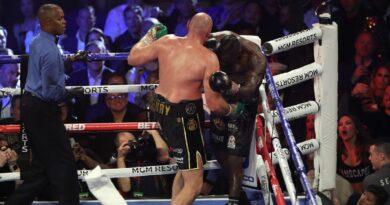 Tyson Fury predicts two-punch combination will KO Anthony Joshua