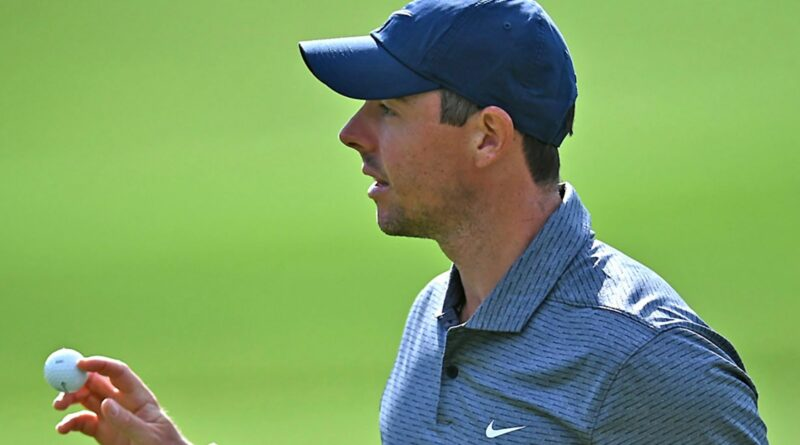Wells Fargo Championship: Rory McIlroy moves within two shots of the halfway lead at Quail Hollow