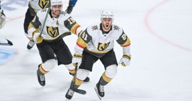 Knights cap series comeback to oust Avs in 6