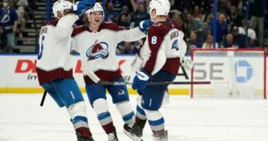 Avalanche never trails and defeats two-time defending Stanley Cup champion Tampa Bay – The Denver Post