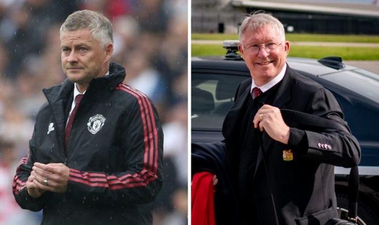 Ole Gunnar Solskjaer risks being undermined with Sir Alex Ferguson at Man Utd training